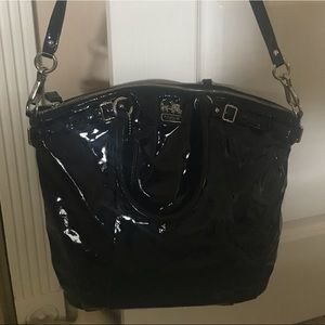 Coach Madison patent leather